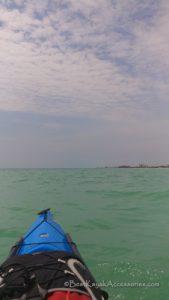 Kayaking gulf side of Lido Key Sarasota FL ©2019 All rights reserved