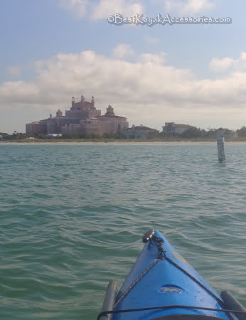 st pete beach florida don cesar hotel from the water  ©2019 All rights reserved