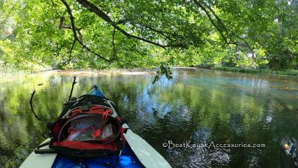 kayaking chassahowitzka river - crab creek springs